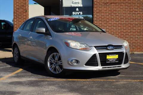 2012 Ford Focus for sale at Hobart Auto Sales in Hobart IN