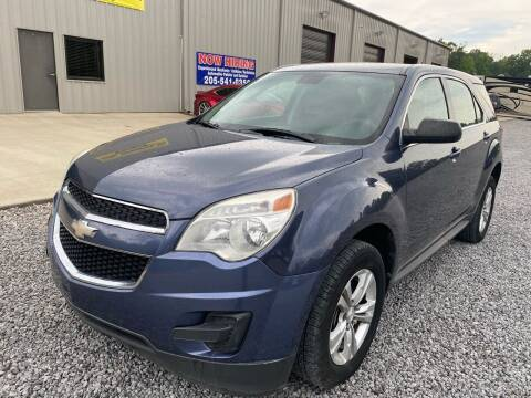 2013 Chevrolet Equinox for sale at Alpha Automotive in Odenville AL