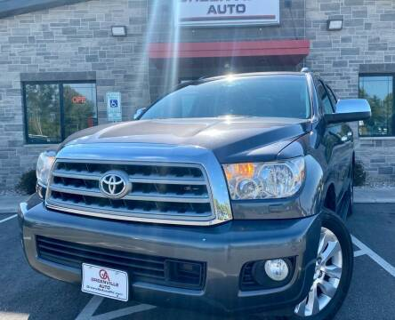2012 Toyota Sequoia for sale at GREENVILLE AUTO in Greenville WI