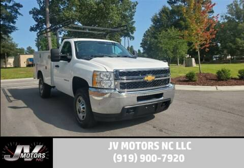 2013 Chevrolet Silverado 2500HD for sale at JV Motors NC LLC in Raleigh NC