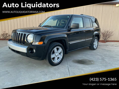 2010 Jeep Patriot for sale at Auto Liquidators in Bluff City TN