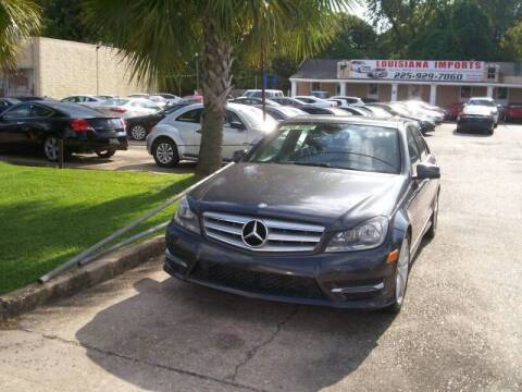2014 Mercedes-Benz C-Class for sale at Louisiana Imports in Baton Rouge LA