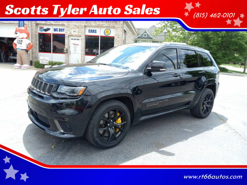 2018 Jeep Grand Cherokee for sale at Scotts Tyler Auto Sales in Wilmington IL