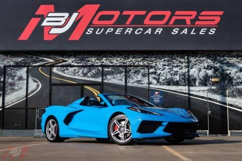 2021 Chevrolet Corvette for sale at BJ Motors in Tomball TX