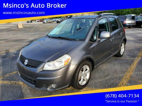 2010 Suzuki SX4 Crossover for sale at Msinco's Auto Broker in Snellville GA