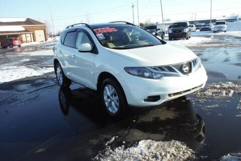 2014 Nissan Murano for sale at Bryan Auto Depot in Bryan OH