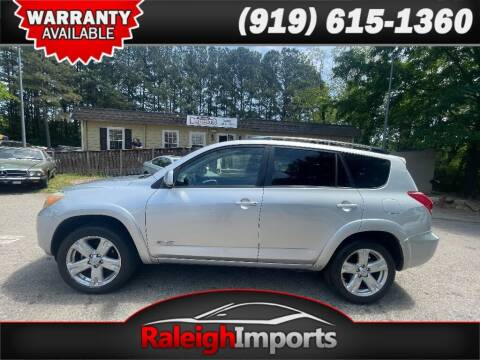 2007 Toyota RAV4 for sale at Raleigh Imports in Raleigh NC