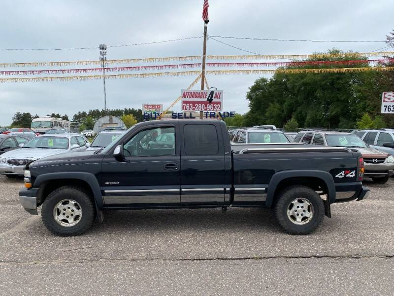 2002 Chevrolet Silverado 1500 for sale at Affordable 4 All Auto Sales in Elk River MN