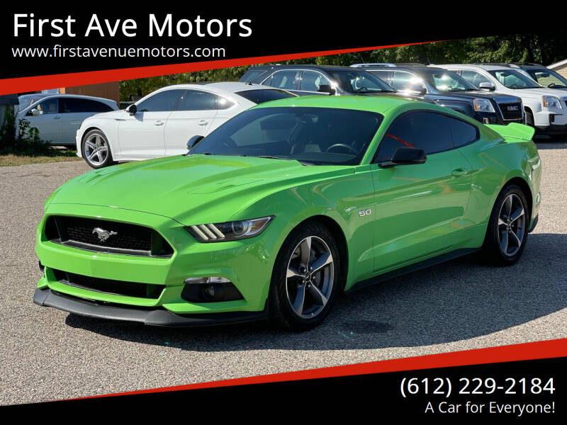 2016 Ford Mustang for sale at First Ave Motors in Shakopee MN