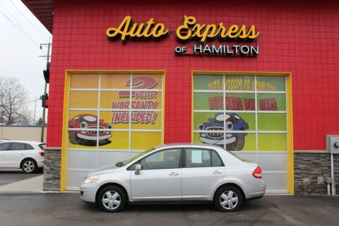 2009 Nissan Versa for sale at AUTO EXPRESS OF HAMILTON LLC in Hamilton OH