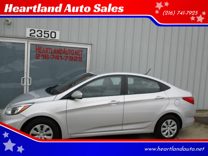 2017 Hyundai Accent for sale at Heartland Auto Sales in Medina OH