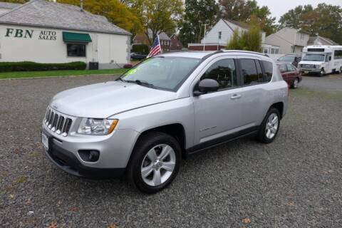 2011 Jeep Compass for sale at FBN Auto Sales & Service in Highland Park NJ