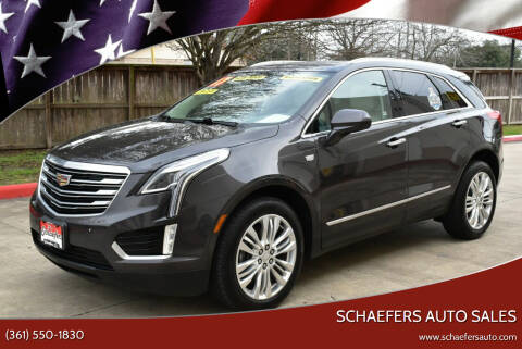 2017 Cadillac XT5 for sale at Schaefers Auto Sales in Victoria TX