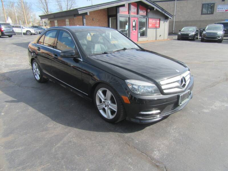2011 Mercedes-Benz C-Class for sale at Riverside Motor Company in Fenton MO