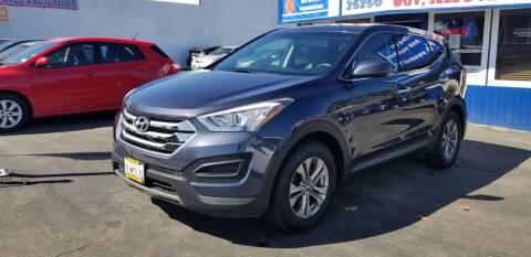 2015 Hyundai Santa Fe Sport for sale at Lucky Auto Sale in Hayward CA