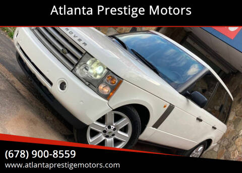 2003 Land Rover Range Rover for sale at Atlanta Prestige Motors in Decatur GA