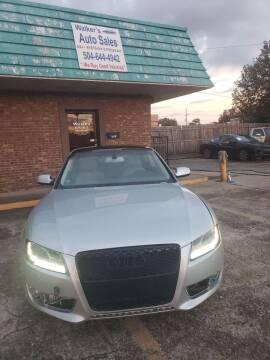 2010 Audi A5 for sale at Walker Auto Sales and Towing in Marrero LA