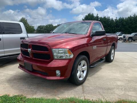2015 RAM Ram Pickup 1500 for sale at Getsinger's Used Cars in Anderson SC