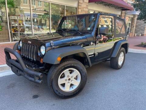 2013 Jeep Wrangler for sale at Crown Auto Group in Falls Church VA