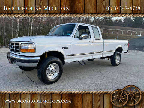 1997 Ford F-250 for sale at Brickhouse Motors in Brentwood NH