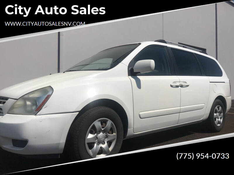 2008 Kia Sedona for sale at City Auto Sales in Sparks NV
