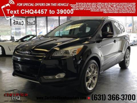 2016 Ford Escape for sale at CERTIFIED HEADQUARTERS in St James NY