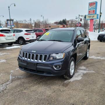 2014 Jeep Compass for sale at Bibian Brothers Auto Sales & Service in Joliet IL