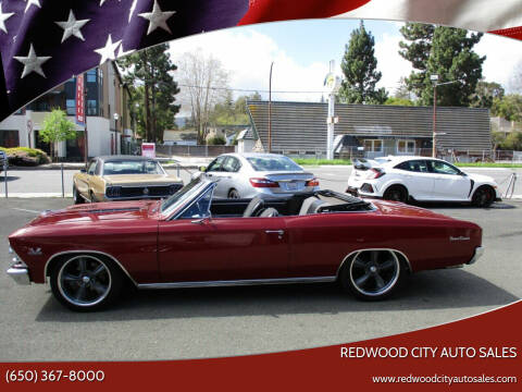 1966 Chevrolet Chevelle for sale at Redwood City Auto Sales in Redwood City CA