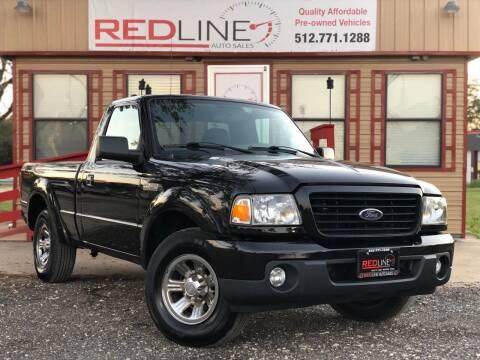2009 Ford Ranger for sale at REDLINE AUTO SALES LLC in Cedar Creek TX