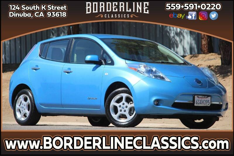 2011 Nissan LEAF for sale at Borderline Classics in Dinuba CA