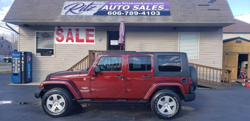 2007 Jeep Wrangler Unlimited for sale at Ritz Auto Sales, LLC in Paintsville KY