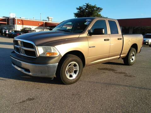2010 Dodge Ram Pickup 1500 for sale at L G AUTO SALES in Boynton Beach FL