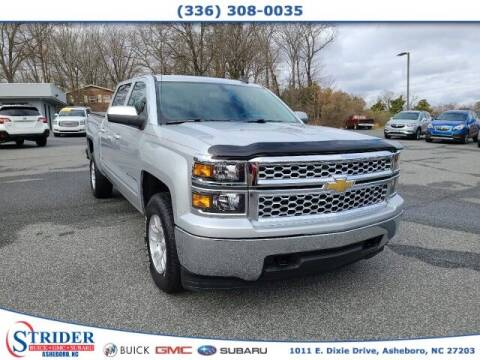 2015 Chevrolet Silverado 1500 for sale at STRIDER BUICK GMC SUBARU in Asheboro NC