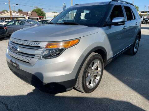 2015 Ford Explorer for sale at Empire Auto Group in Indianapolis IN