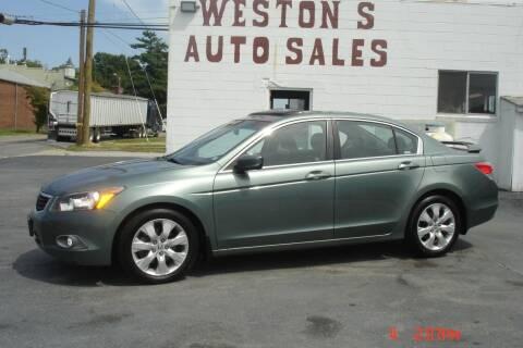 2009 Honda Accord for sale at Weston's Auto Sales, Inc in Crewe VA