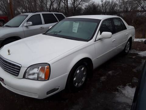 2000 Cadillac DeVille for sale at BARNES AUTO SALES in Mandan ND