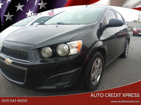 2015 Chevrolet Sonic for sale at Auto Credit Xpress in North Little Rock AR