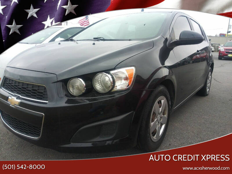 2015 Chevrolet Sonic for sale at Auto Credit Xpress - Sherwood in Sherwood AR