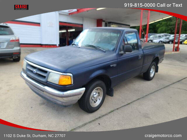 1995 Ford Ranger for sale at CRAIGE MOTOR CO in Durham NC