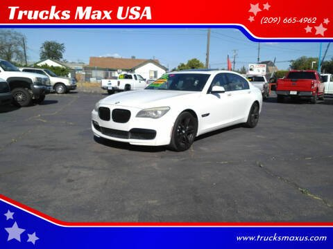 2012 BMW 7 Series for sale at Trucks Max USA in Manteca CA