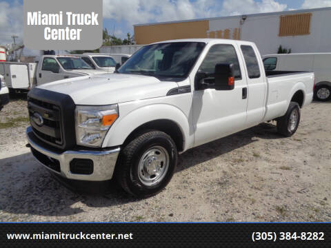 2013 Ford F-250 Super Duty for sale at Miami Truck Center in Hialeah FL
