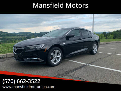 2018 Buick Regal Sportback for sale at Mansfield Motors in Mansfield PA