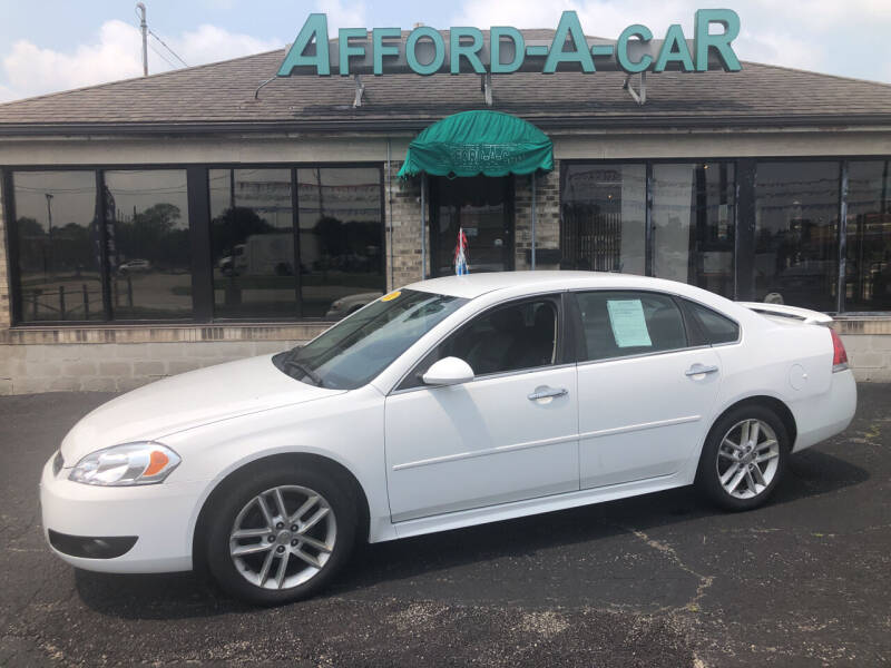 2016 Chevrolet Impala Limited for sale at Afford-A-Car in Moraine OH