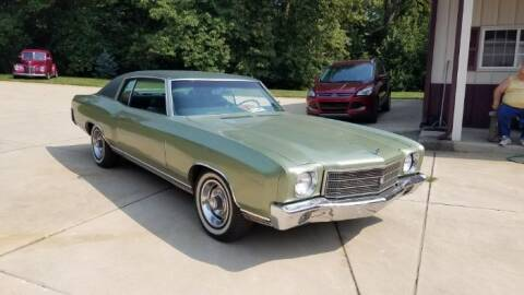 1970 Chevrolet Monte Carlo for sale at Haggle Me Classics in Hobart IN