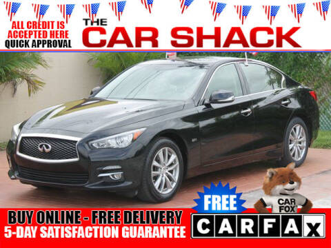 2017 Infiniti Q50 for sale at The Car Shack in Hialeah FL