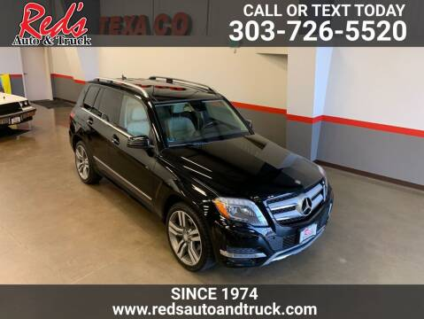 2015 Mercedes-Benz GLK for sale at Red's Auto and Truck in Longmont CO