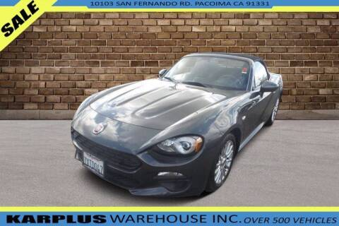 2017 FIAT 124 Spider for sale at Karplus Warehouse in Pacoima CA