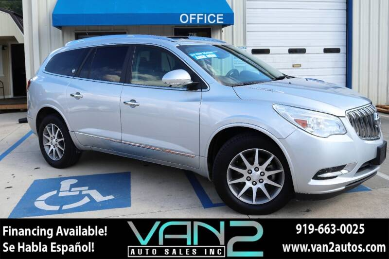 2015 Buick Enclave for sale at Van 2 Auto Sales Inc in Siler City NC