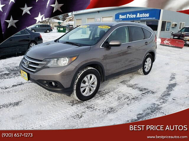 2013 Honda CR-V for sale at Best Price Autos in Two Rivers WI