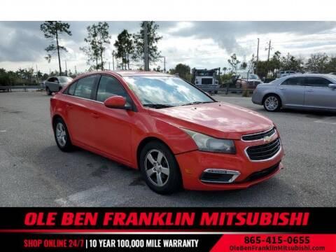 2016 Chevrolet Cruze Limited for sale at Ole Ben Franklin Mitsbishi in Oak Ridge TN